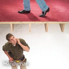 Fast, easy ways to silence floor squeaks. No special skills or tools needed. We'll show you everything you need to know.