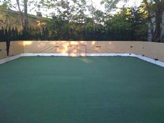 Backyard Roller Derby Rink