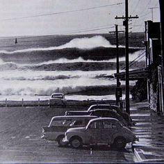 Cronulla waves- Australia circa 1960