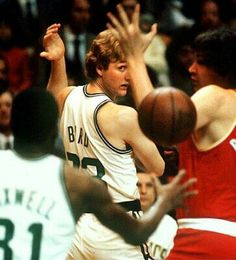 Larry Bird pass crazy