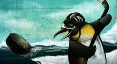 pittsburgh penguin by cim Hockey Penguins, Pittsburgh Penguins, Paintings, Display, Animals, Ideas, Art, Floor Space, Art Background