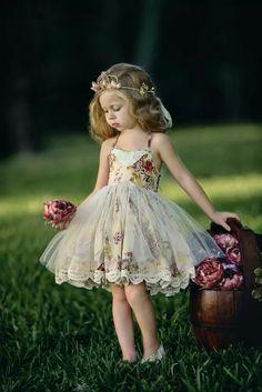 Girl doll dress