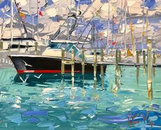 Peter Vey — Gallery On Greene Architectural Pattern, Grant Wood, Caribbean Art, Moving To Florida, Boat Art, Winslow Homer, Classical Education, Sense Of Place, Pictures To Paint