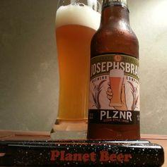 Josephs Brau PLZNR Czech-Style Lager.....Trader Joe's?.....Pilsner?.....Not bad! #Beer