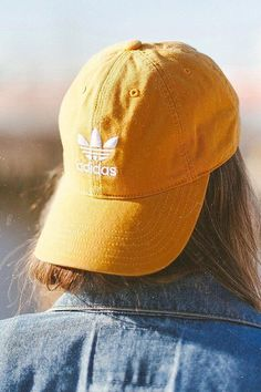 Slide View: 1: adidas Originals Relaxed Strapback Baseball Hat