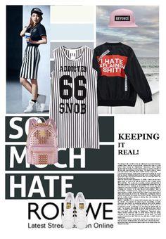 Untitled #562 by chau-bao-ngan on Polyvore featuring mode, Chicnova Fashion, adidas Originals and MCM
