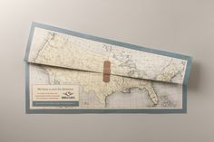 Miracle Flights: Healed maps | Ads of the World™