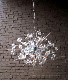 Clayton Gray_Bubbles Glass Chandelier