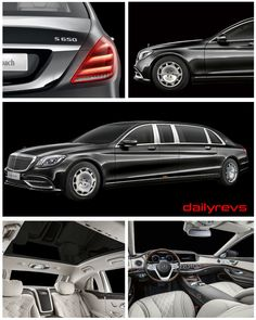 2019 Mercedes-Benz S650 Pullman Maybach - HQ Pictures,Specs,information and videos - Dailyrevs