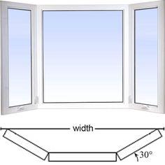 vinylbilt Low Profile Vinyl Bay Window