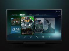 Smart TV UI by Roy