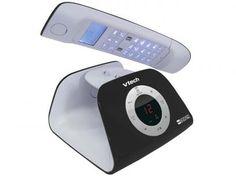 Telefone Digital Sem Fio VTech - c/ Identificador de Chamadas Retro Phone - B com as melhores condições você encontra no Magazine Voceflavio. Confira!