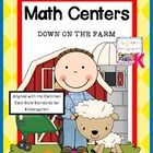 This file is a 37 page download of my Common Core aligned Kindergarten Math Centers: Down on the Farm. Your students will love interacting with these centers!   Included in this file you will fine the following centers:  A sorting and classifying center with 8 different animal sorting cards and 6 category cards. Students will sort using a venn diagram or a t chart. 2 response sheets are included.  $6.99
