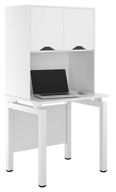 Arctic White Small Storage Desk Ideal For The Home