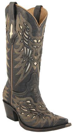 c00736181acb94 Lucchese Hillsboro Lazer Design Cowboy Boots Women