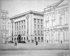 Projecto sede do Banco de Portugal, 1938