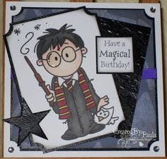 Handmade by Tillymint A Harry Potter birthday card Gifts