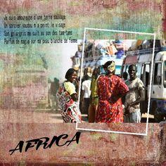 Africa Page de scrap