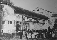 Teatre/ cine Triunfo, al carrer Rec Comtal