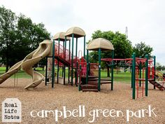 DFW Review: Campbell Green Park, our favorite playground / park in Dallas.