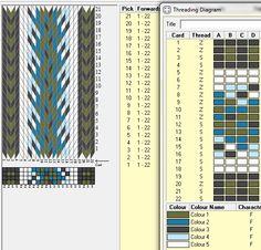 Combinación de tonalidades, 22 tarjetas, 5 colores // sed_355 diseñado en GTT༺❁