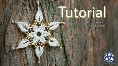 Macrame Tutorial Flower Star Pendant / Key Chain