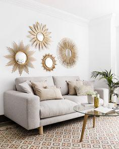 Home Room Design, Living Room Designs, Living Room Decor, Bedroom Decor, Diy Wall Decor, Diy Home Decor, Casa Retro, Balinese Decor, Apartment Chic