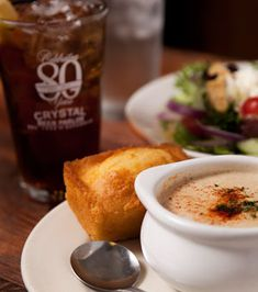 Haunted restaurant Crystal beer Parlor.  Anesia says get crab stew!    Historic restaurant in Savannah, GA