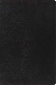 ESV Verse-By-Verse Reference Bible-Black Genuine