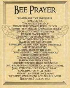 Bee Prayer