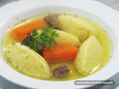 Griz knedle | Cornmeal dumplings