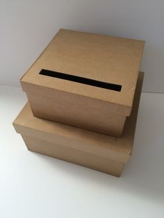 Wedding Card box - basic instructions then decorate as you wish ...