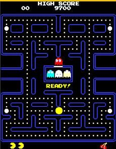 Pac Man, still one of my faves and one of the only video games I can and actually want to play.