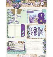 Studio Light Project Cards A4 La Provence nr 02 - Kimya verpakkingen