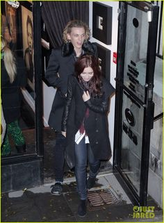 lily collins and jamie campbell bower the mortal instruments on set photos   The Mortal Institute: Jamie Campbell Bower and Lily Collins seen ...