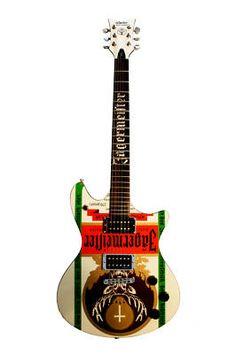 Schecter Jägermeister Tempest E Limited RARE Guitar
