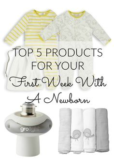 My Top 5 Products For Your First Week With A Newborn - Lamb & Bear