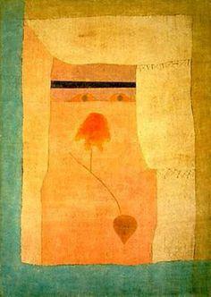 Arabische Lied von Paul Klee (1879-1940, Switzerland)