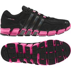 I have these in blue..but I am loving the black/hot pink....Most comfortable pair of shoes I have ever owned