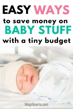 15 easy ways to save money on baby stuff with a tiny budget – Finance tips, saving money, budgeting planner Used Baby Items, Plan For Life, Baby On A Budget, Money Saving Mom, Mom Advice, Parenting Teens, Breastfeeding Tips, Free Baby Stuff, Having A Baby