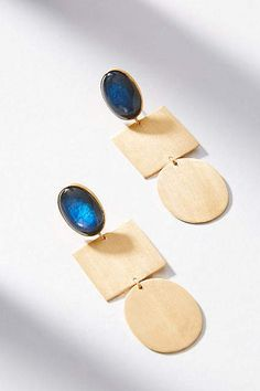 ZOJA Franka Geo Drop Earrings