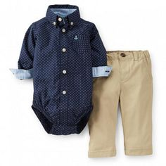 Carter's® Infant Boys 2 Piece Pant Set - 1