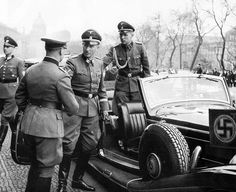 Reinhard Heydrich in Prague