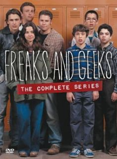 Freaks and Geeks (DVD). Gone too soon, but it is a perfect one season show and every episode is magical! It's hilarious and painful and sweet. Set in the early 1980's, it's the most honest depiction of high school struggles ever portrayed on television. http://libcat.bentley.edu/record=b1114579~S0