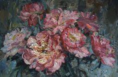 Podgaevskaya Marina. Pink peonies