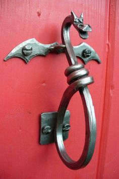 Dragon door knob | perilla dragón