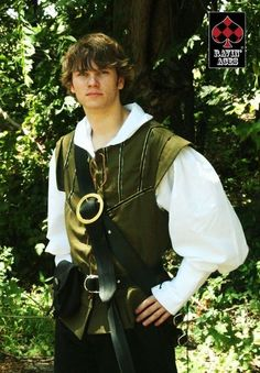Green Renaissance Male Doublet by LoliPoison on Etsy, $75.00