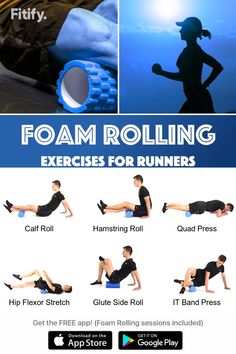 Try this foam Rolling session to massage and release your muscles. Great cool-down after running, cycling, or leg workout. Get Fitify App to get over 70 foam roller exercises (and many more) for free. Foam Roller Exercises, Stretching Exercises, Ab Roller Workout, Cool Down Exercises, Football Workouts, Workout Warm Up, Man Workout, Cycling Workout, Dumbbell Workout