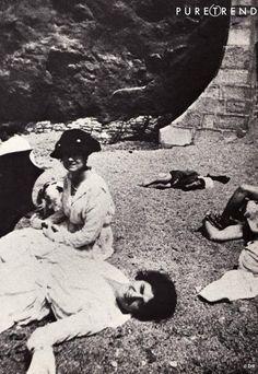 1918 - Adrienne & Gabrielle Chanel