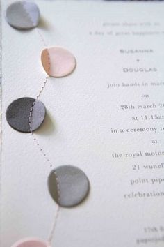 stationery by jo neville of paper couture
